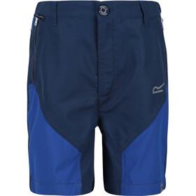 Regatta Sorcer Mountain Shorts Kids, dark denim/nautical blue